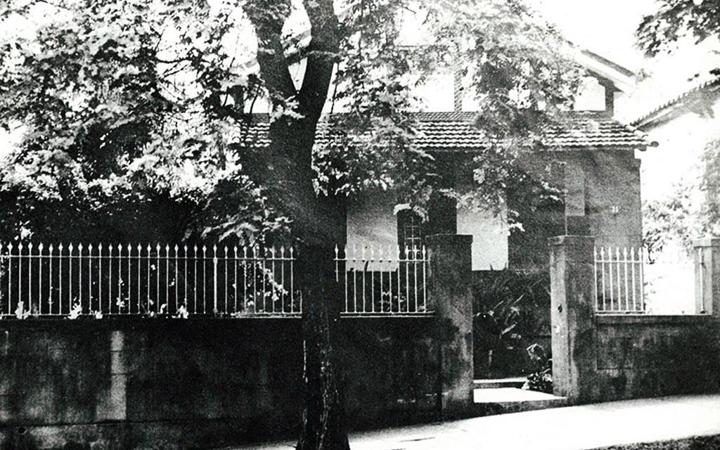 Sede da GLP em 1958